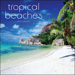 Tropical Beaches Calendar 2013